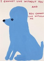 David SHRIGLEY | I Cannot Live Without You | Screen-print available for sale on www.kunzt.gallery