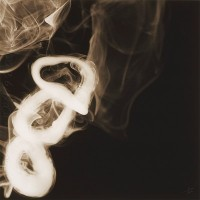 Donald SULTAN | Smoke Rings (Oct 16, 2005) | Archival Print available for sale on www.kunzt.gallery