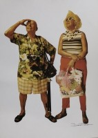 Duane HANSON | Tourists | Offset Print available for sale on www.kunzt.gallery