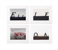 Ed Ruscha | Etc - If - South - and Question & Answer | Lithograph available for sale on www.kunzt.gallery