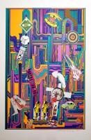 Eduardo PAOLOZZI | Mr. Peanut | Screen-print available for sale on www.kunzt.gallery