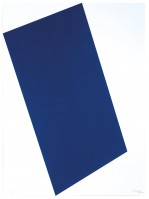 Ellsworth KELLY | Blue (for Leo) | Serigraph available for sale on www.kunzt.gallery