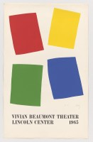 Ellsworth KELLY | Vivian Beaumont Theater, Lincoln Center | Lithograph available for sale on www.kunzt.gallery