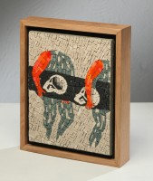 Enzo CUCCHI | Four arms and seven hands | Mixed Media available for sale on www.kunzt.gallery