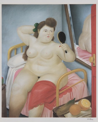Fernando BOTERO | La toilette | Lithograph available for sale on www.kunzt.gallery