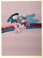 Francis BACON | In memory of George Dyer | Lithograph available for sale on www.kunzt.gallery