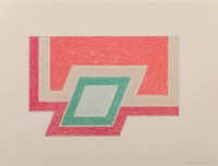 Frank STELLA | Conway | Serigraph available for sale on www.kunzt.gallery