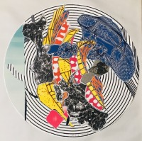 Frank STELLA | Egyplosis | Mixed Media available for sale on www.kunzt.gallery