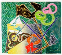Frank STELLA | Shards V | Lithograph available for sale on www.kunzt.gallery
