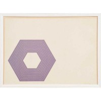 Frank STELLA | Sidney Guberman | Lithograph available for sale on www.kunzt.gallery