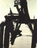 Franz KLINE | Untitled | Offset Print available for sale on www.kunzt.gallery