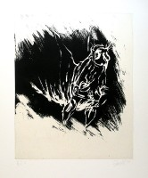 Georg BASELITZ | Der Erste Mai | Etching and Aquatint available for sale on www.kunzt.gallery