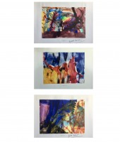 Gerhard RICHTER | Aquarell (3) | Offset Print available for sale on www.kunzt.gallery