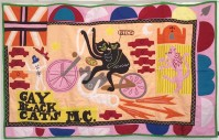 Grayson PERRY | Gay Black Cats MC | Mixed Media available for sale on www.kunzt.gallery