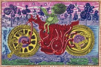 Grayson PERRY   Selfie with political causes   Etching available for sale on www.kunzt.gallery