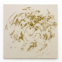 Gunther UECKER | Ouroboros #11 | Sand available for sale on www.kunzt.gallery
