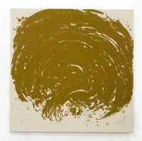 Gunther UECKER | Ouroboros #3 | Sand available for sale on www.kunzt.gallery