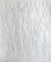 Gunther UECKER | Vertical structure | Embossing available for sale on www.kunzt.gallery