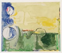 Helen Frankenthaler | Flotilla | Silkscreen available for sale on www.kunzt.gallery
