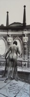 Helmut NEWTON | Panoramic Nude | Gelatin Silver Print available for sale on www.kunzt.gallery