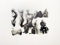 Henry Moore | Ideas for sculptures C. 365 | undefined available for sale on www.kunzt.gallery