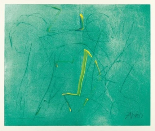 Herbert ZANGS | 5 works, No Title | Etching available for sale on www.kunzt.gallery