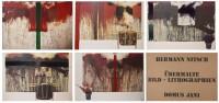 Hermann NITSCH | Ubermalte Bild - Lithographien, Domus Jani | Lithograph available for sale on www.kunzt.gallery