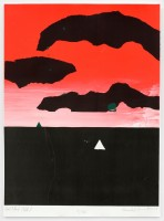Herold ANCART | Untitled (Fall) | Silkscreen available for sale on www.kunzt.gallery