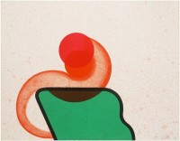 Howard HODGKIN | Bedroom | Lithograph available for sale on www.kunzt.gallery