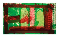 Howard HODGKIN | Bleeding | Lithograph available for sale on www.kunzt.gallery