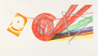 James ROSENQUIST | Spokes | Etching and Aquatint available for sale on www.kunzt.gallery