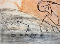 José BEDIA | Oyá en lo suyo | Etching available for sale on www.kunzt.gallery