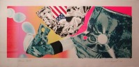 James Rosenquist | Flamingo Capsule | Screen-print available for sale on www.kunzt.gallery