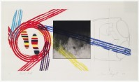 James Rosenquist | Gravity Feed | Aquatint available for sale on www.kunzt.gallery