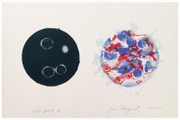 James Rosenquist | High Pool | Lithograph available for sale on www.kunzt.gallery