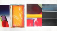 James ROSENQUIST | Horse Blinders (South) | Mixed Media available for sale on www.kunzt.gallery