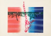 James ROSENQUIST | Horseblinders | Lithograph available for sale on www.kunzt.gallery