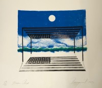 James ROSENQUIST | Moon box | Lithograph available for sale on www.kunzt.gallery