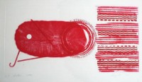 James Rosenquist | Shallows: 2 state | Aquatint available for sale on www.kunzt.gallery
