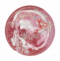 James ROSENQUIST | Skull Snap State I | Mixed Media available for sale on www.kunzt.gallery