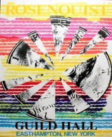 James ROSENQUIST | Starfish | Serigraph available for sale on www.kunzt.gallery