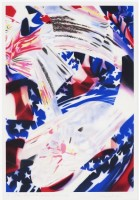 James ROSENQUIST | Stars and Stripes at the Speed of Light | Lithograph available for sale on www.kunzt.gallery