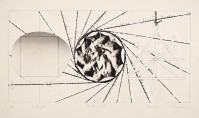 James Rosenquist | Sunglass Lens - Landing Net - Triangle | Etching available for sale on www.kunzt.gallery
