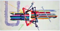 James ROSENQUIST | Violent Turn | Lithograph available for sale on www.kunzt.gallery
