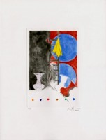 Jasper JOHNS | Untitled | Aquatint available for sale on www.kunzt.gallery