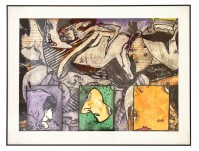 Jasper Johns | Untitled | Carborundum available for sale on www.kunzt.gallery