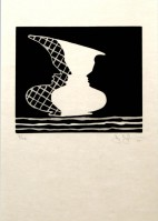 Jasper Johns | Sun on Six | Linocut available for sale on www.kunzt.gallery