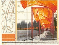 Javacheff CHRISTO | The Gates (a) | Lithograph available for sale on www.kunzt.gallery