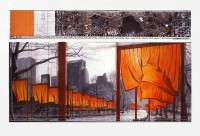 Javacheff CHRISTO | The Gates (b) | Lithograph available for sale on www.kunzt.gallery