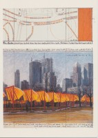 Javacheff CHRISTO | The Gates (d) | Lithograph available for sale on www.kunzt.gallery